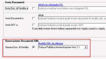 Modello XML