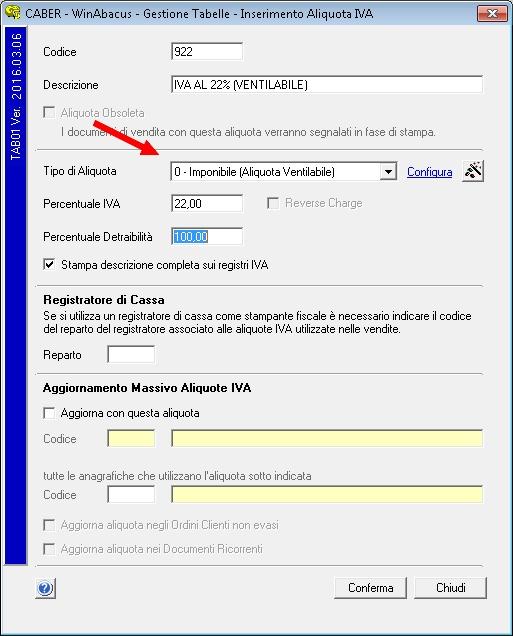 Aliquota IVA